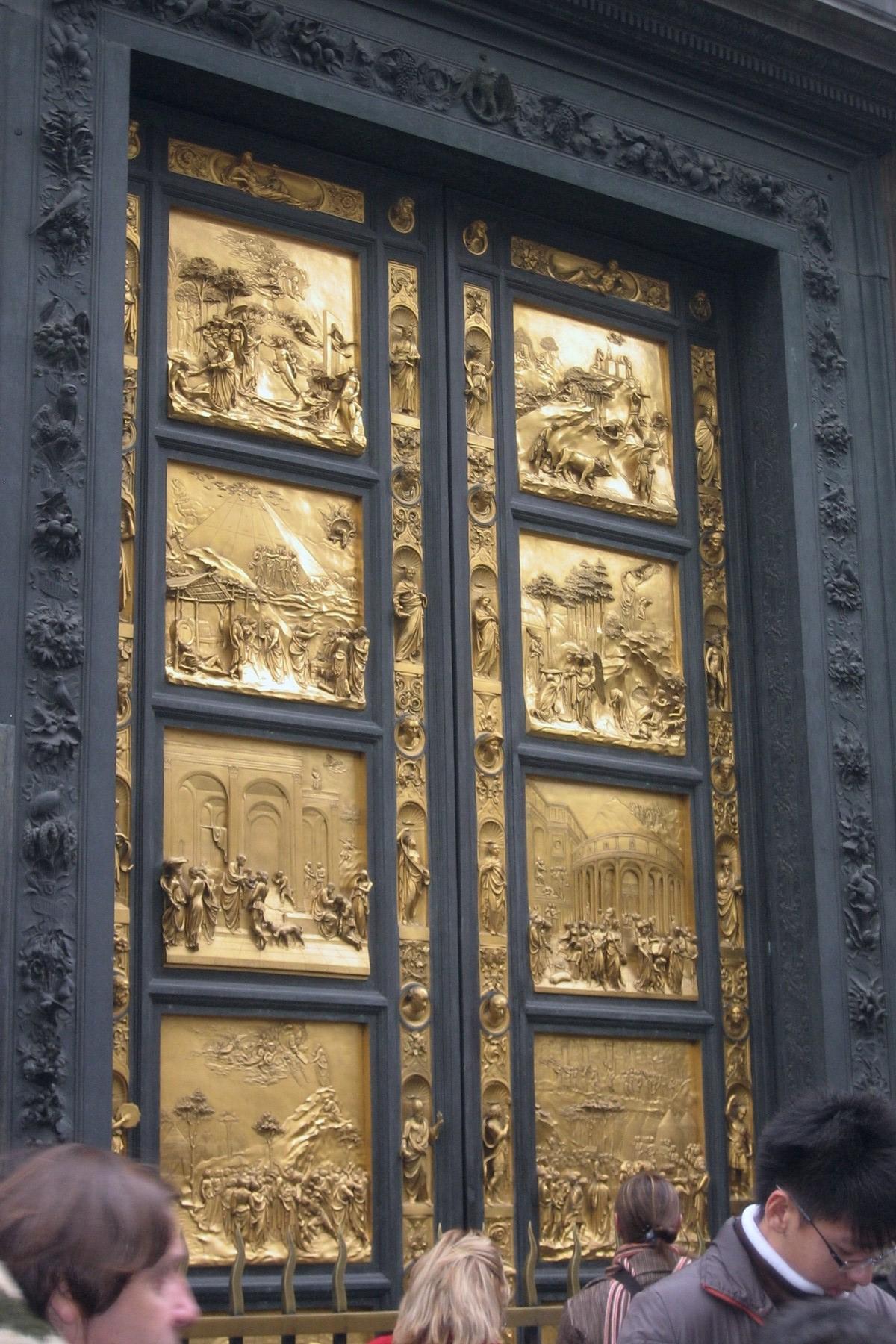 Golden Doors Florence & Langdon And Brooks Enter Through ...