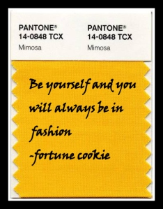 """the swatch is an inspiration quote post I created each Monday for my blog called """"Your Weekly Snip"""
