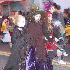 New Paltz Halloween Parade; Photo courtesy of newpaltzx.com