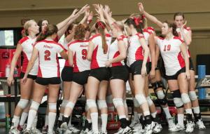 Marist Volleyball will be heading to the MAAC Championship tournament this weekend as the first seed. Photo credits to Marist Athletics.