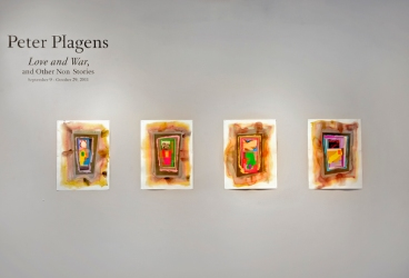 Peter Plagens at Rule Gallery 4