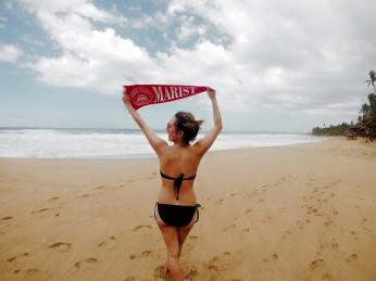 Representing Marist in Puerto Rico