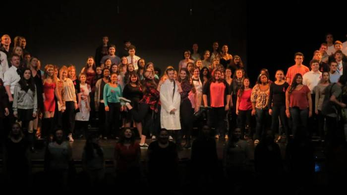 Marist Singers performing Time Warp Photo by Mike Napolitano