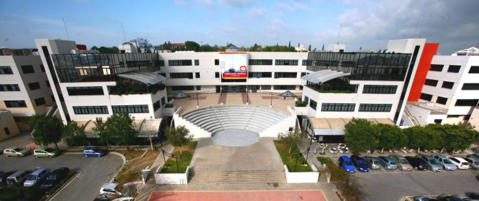 An aerial view of the University of Nicosia at Cyprus. Photo courtesy of http://www.unic.ac.cy.