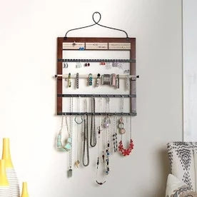 hanging jewelry rack